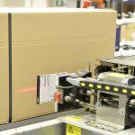 Logistik Etikettierung bei Schuhhaus Görtz