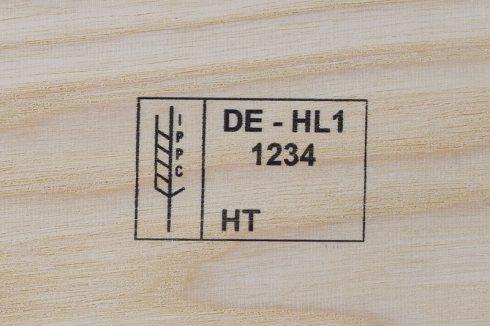 Marcatura Inkjet in legno