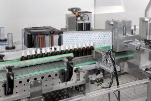 Linea di etichettatura Geset per il farmaceutico